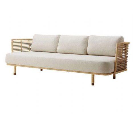 Sofa mây trang nhã.
