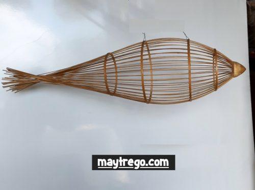 Lồng tre hình con cá