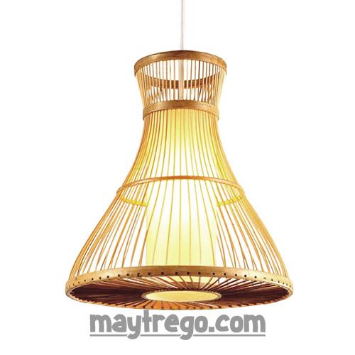 Đèn lồng tre trang trí kiểu trống đồng Việt Nam xưa – Fi30cmH37cm